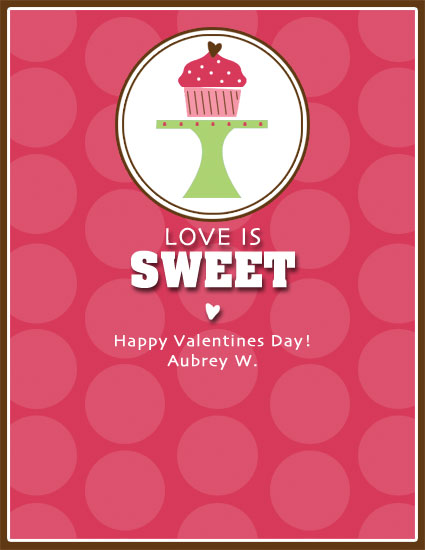 valentine's day - Love is Sweet by Kristin Woodwick