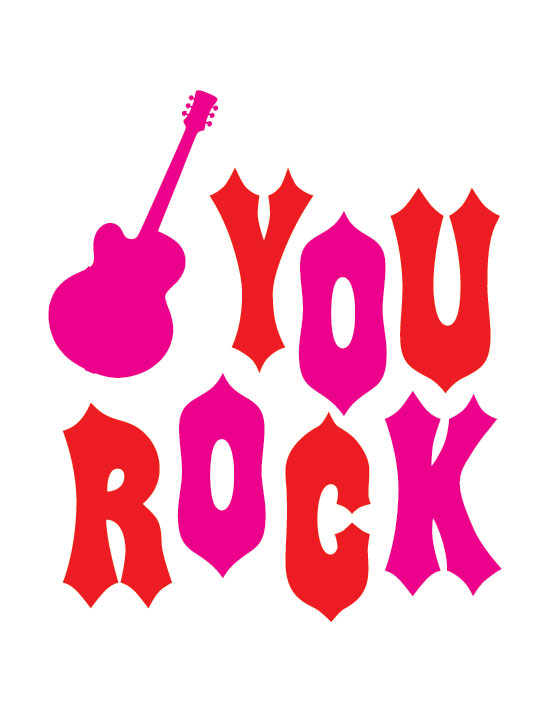 valentine's day - You Rock by Faye + Co