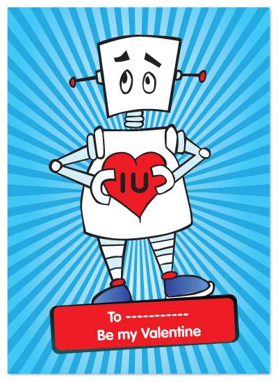 valentine's day - Robot by Natti