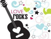Love Rocks by Gisella Battisti