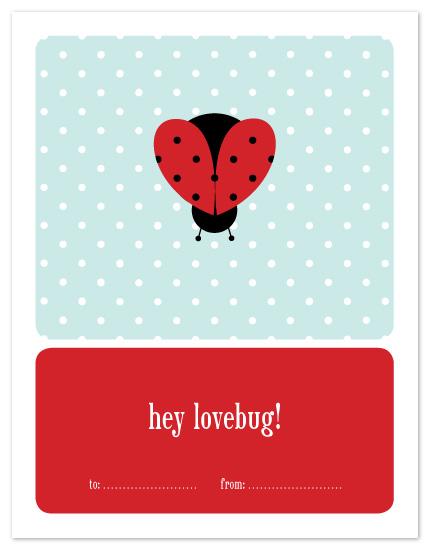valentine's day - lady love bug by sweet tree studio