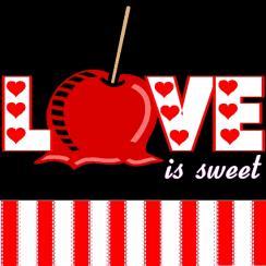 SWEET CARMEL APPLE LOVE