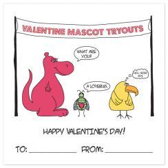Valentine Mascot