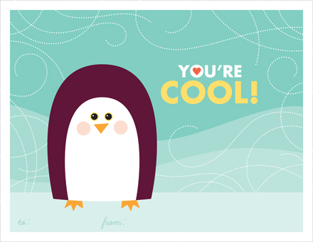 valentine's day - You're Cool! by Dish and Spoon