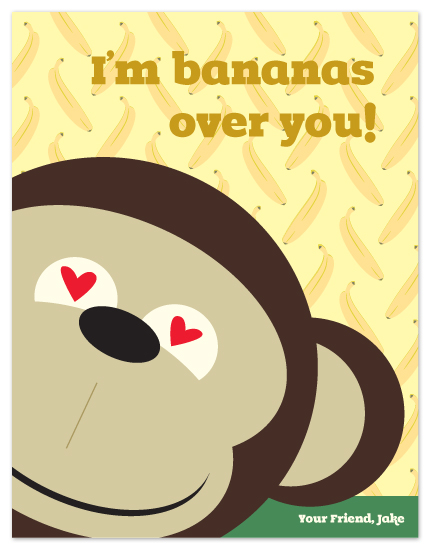 valentine's day - bananas by connors creative
