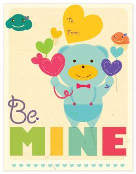 Bear gives his love