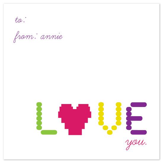 valentine's day - pixeled love by Katie Leggitt
