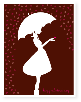 valentine's day - brolly by Marabou Design