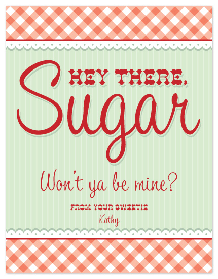valentine's day - Hey Sugar! by Thistle and Lilly