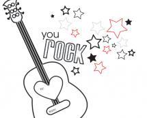 You Rock!! by Gisella Battisti