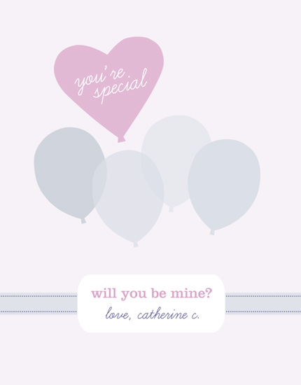 valentine's day - You're special, will you be mine? by fondly san francisco