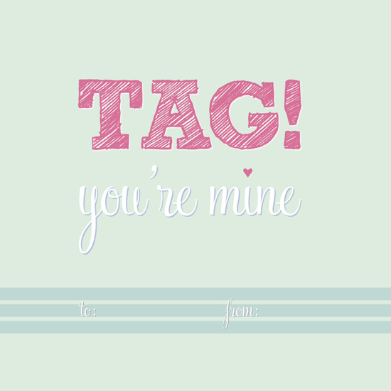 valentine's day - TAG! You're mine by fondly san francisco
