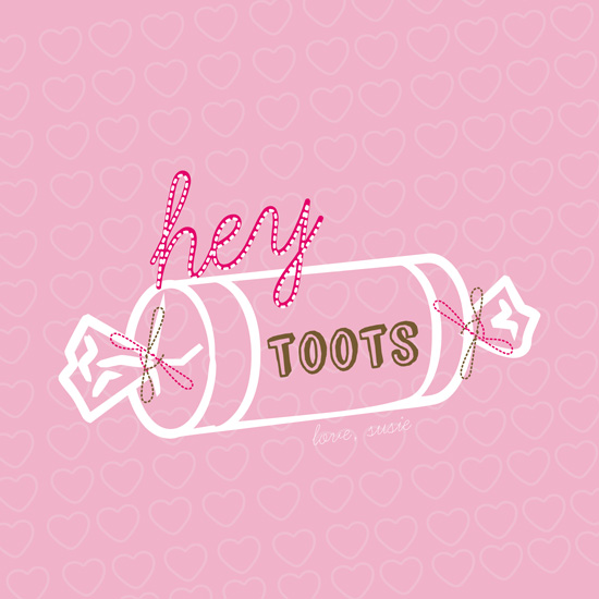 valentine's day - Hey Toots by lou & riggy
