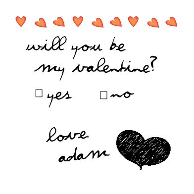 valentine's day - Handwritten Valentine by Amanda Register- An Occasional Design