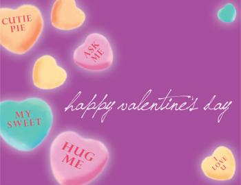 Special Candy Hearts