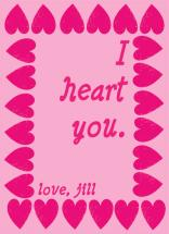 I <3 you by Little Wex Designs