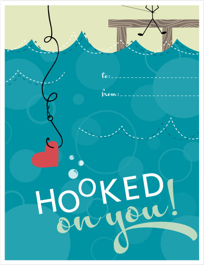 valentine's day - HooKed ON YOU by Katie Beth Owens