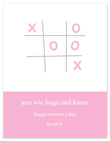 valentine's day - Tic Tac Toe Valentine by Sue Bakkila