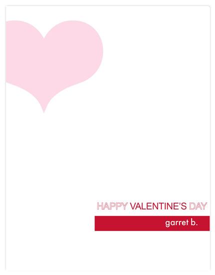 valentine's day - Off Set Heart by Sue Bakkila