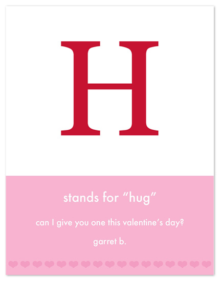 valentine's day - H Stands For by Sue Bakkila