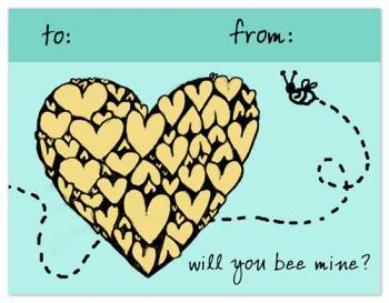 Buzzing Bee Valentine