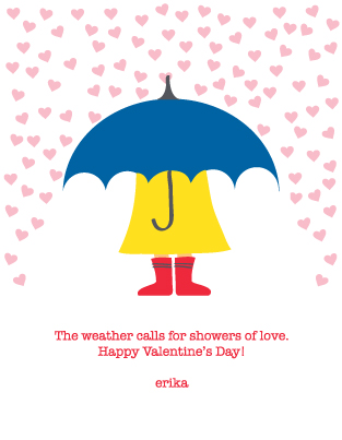 valentine's day - Weather Calls for Love by Erika Schulze