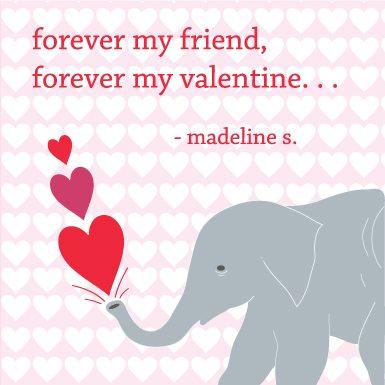 valentine's day - Forever your friend by Erika Schulze