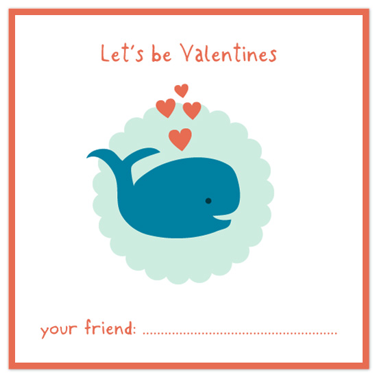 valentine's day - Wee Whale by Kelly Nasuta