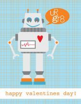 UR GR8 Robot by Julie Rasmussen