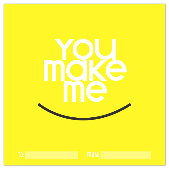 valentine's day - you make me smile by Design Lotus