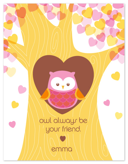 valentine's day - owl be your friend by Coco and Ellie Design