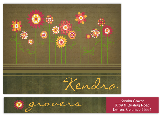 personal stationery - Gardens by Chic Design
