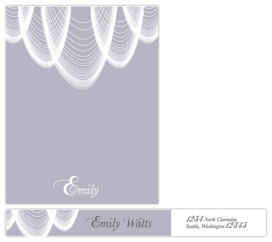 personal stationery - Pearl Necklace by lou & riggy