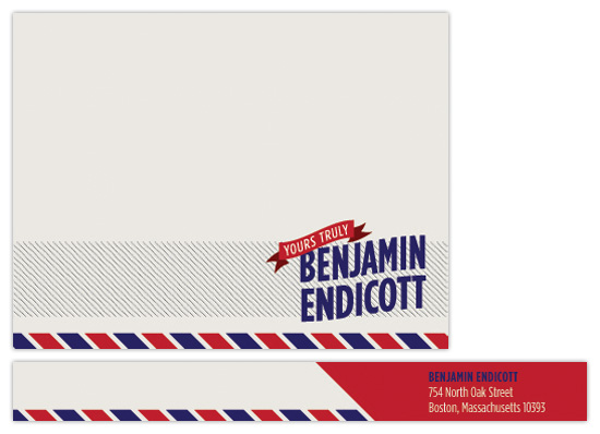 personal stationery - Endicott by Paper Plains
