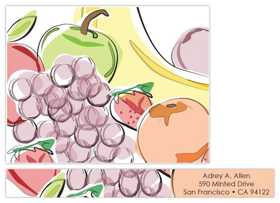 personal stationery - Fruti by Jennifer C