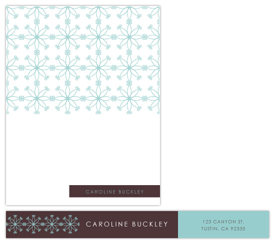 personal stationery - Ornate Response by Paperview Designs