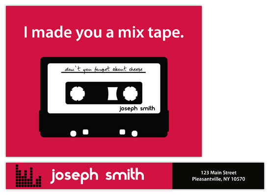 personal stationery - I made you a mixtape. by Fred Designs