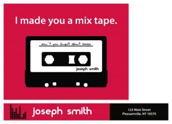 I made you a mixtape.