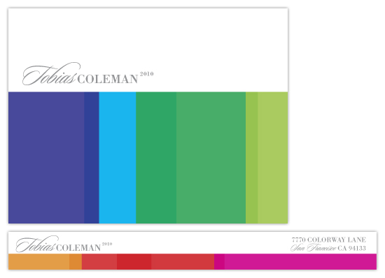 personal stationery - CMYK by Design Lotus