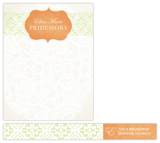 personal stationery - Bohemian Chic by Peek Designs