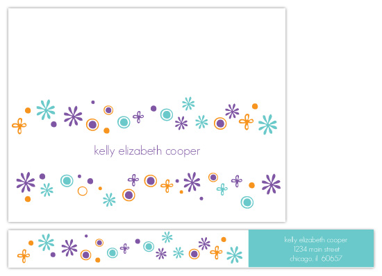 personal stationery - Bright Breeze by Kimberly FitzSimons