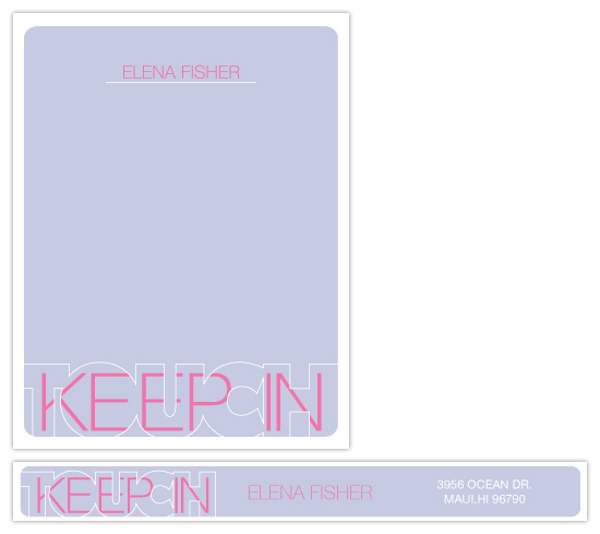 personal stationery - Keep