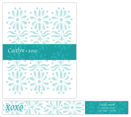 personal stationery - xoxo by papercake gal