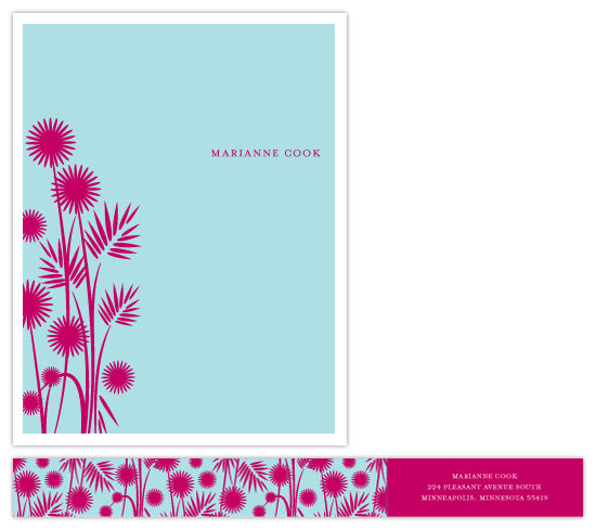 personal stationery - marianne medly by doodle bird