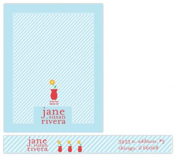 Happy Day Personalized Stationary