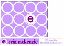PURPLE STATIONERY by ERIN MCKENZIE