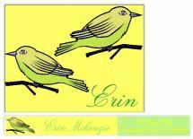 TWO BIRDS by ERIN MCKENZIE