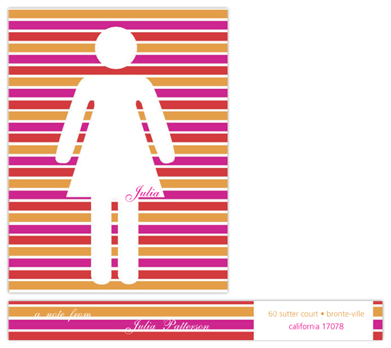 personal stationery - not to be used of men by Deniz Ören
