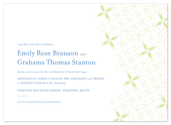 wedding invitations - Stitched Love by Laura Coggins