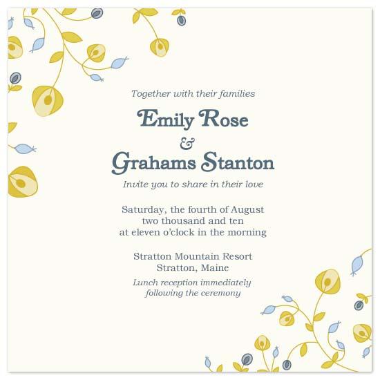 wedding invitations - Sweet Spring by Peek Designs